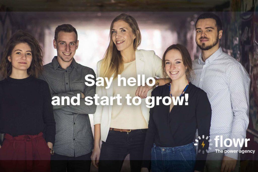 Contactez l'équipe de Flowr Agency pour développez votre communication et présence en ligne